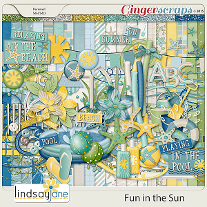 Fun In The Sun by Lindsay Jane