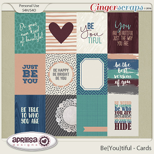 Be{You}Tiful - Cards by Aprilisa Designs