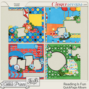 Reading Is Fun - QuickPage Album