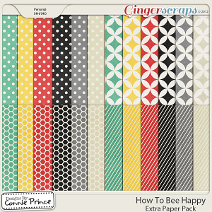 How To Bee Happy - Extra Papers