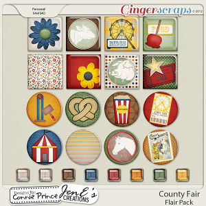 Retiring Soon - County Fair - Flair Pack