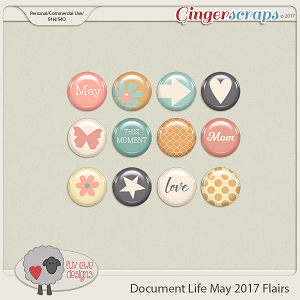Document Life May 2017 Flairs by Luv Ewe Designs