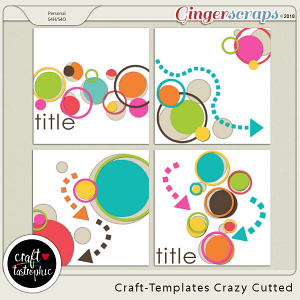 Craft-Templates Crazy Cutted