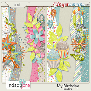 My Birthday Borders by Lindsay Jane