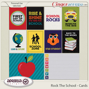 Rock The School - Cards