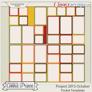 Project 2015 October - Stitched Pocket Templates