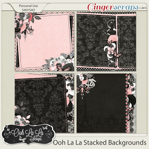 Ooh La La Stacked Backgrounds