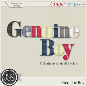 Genuine Boy Alphabets