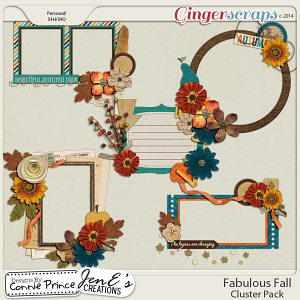 Fabulous Fall - Cluster Pack