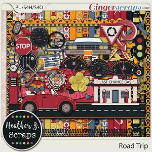 Road Trip KIT by Heather Z Scraps