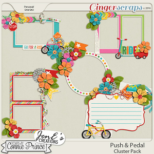 Push & Pedal - Cluster Pack