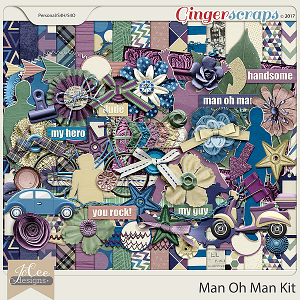 Man Oh Man Kit by JoCee Designs