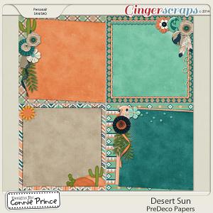 Retiring Soon - Desert Sun - PreDeco Papers