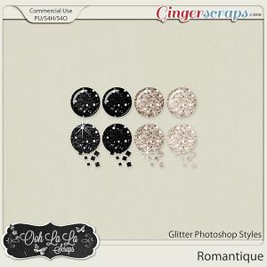Romantique CU Glitter Photoshop Styles