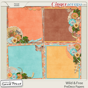 Retiring Soon - Wild & Free - PreDeco Papers