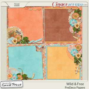 Retiring Soon - Wild & Free - PreDeco Papers