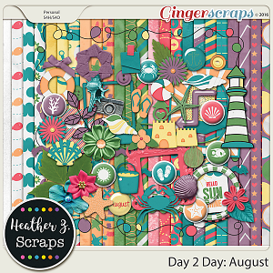 Day 2 Day: August KIT by Heather Z Scraps