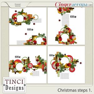 Christmas steps 1.