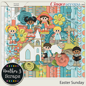 Easter Sunday KIT by Heather Z Scraps