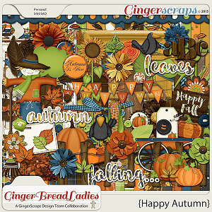 GingerBread Ladies Collab: Happy Autumn