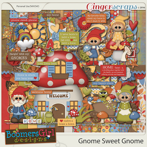 Gnome Sweet Gnome by BoomersGirl Designs