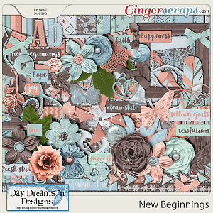 New Beginnings {Kit} by Day Dreams 'n Designs