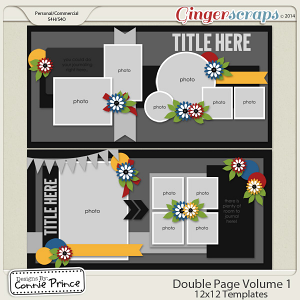 Double Page Volume 1 - 12x12 Temps (CU Ok)