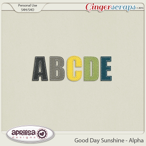 Good Day Sunshine - Alpha by Aprilisa Designs