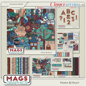 Home & Heart BUNDLE MagsGraphics