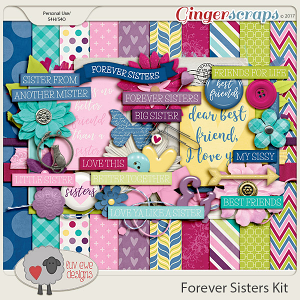Forever Sisters Kit by Luv Ewe Designs
