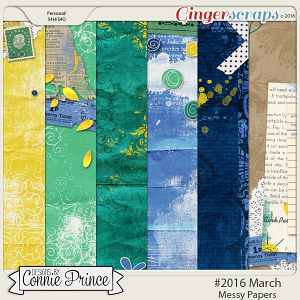 #2016 March - Messy Papers
