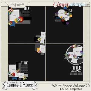 White Space Volume 20 - 12x12 Temps (CU Ok)