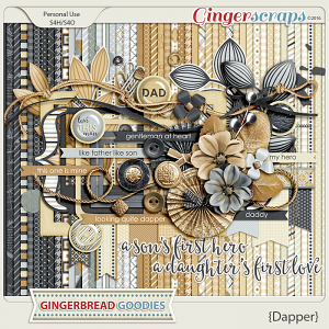 GingerBread Ladies: Dapper
