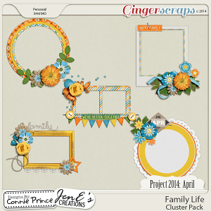 Project 2014 April:  Family Life - Cluster Pack