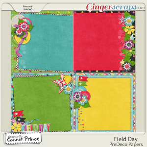 Field Day - PreDeco Papers