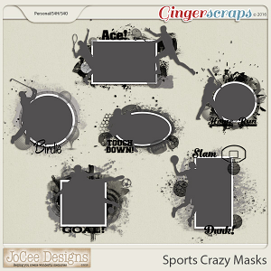 Sports Crazy Photo Masks