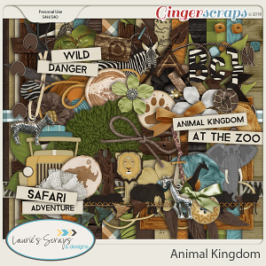 Animal Kingdom Page Kit