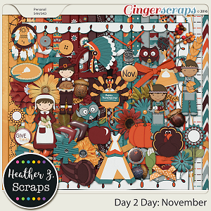 Day 2 Day: November KIT by Heather Z Scraps