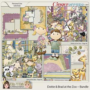 Dottie & Brad at the Zoo Bundle by K4K
