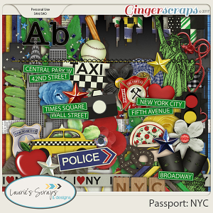 Passport: NYC Page Kit