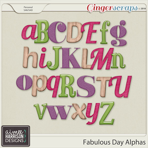 A Fabulous Day Alpha Sets by Aimee Harrison