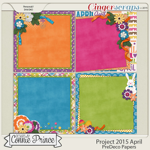 Project 2015 April - PreDeco Papers
