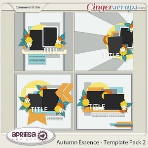 Autumn Essence - Template Pack 2