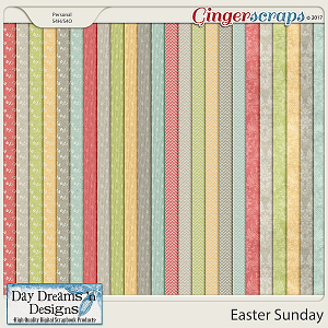 Easter Sunday {Extra Papers} by Day Dreams 'n Designs