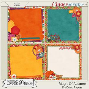 Magic Of Autumn - PreDeco Papers
