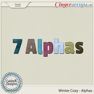 Winter Cozy - Alphas