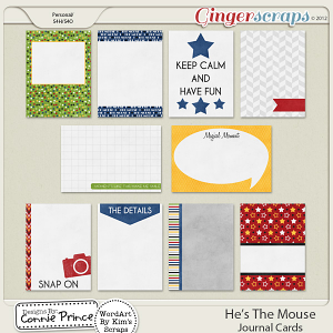 He's The Mouse - Journal Cards