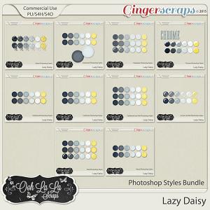 Lazy Daisy Photoshop Styles Bundle