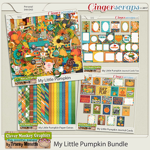 My Little Pumpkin Bundle by Clever Monkey Graphics