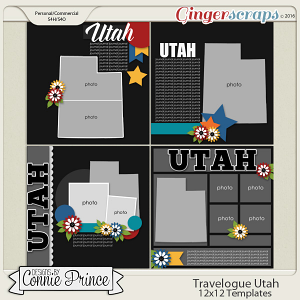 Travelogue Utah - 12x12 Temps (CU Ok)